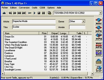 CDex 1.40 fr