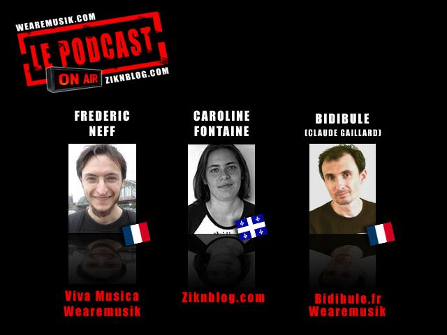 les créateurs du podcast