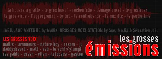 Les Émission de la Grosse Radio