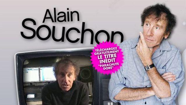 Alain Souchon frustré offre un titre en mp3