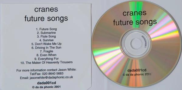 "CRANES ""Future Song"" (CD)"