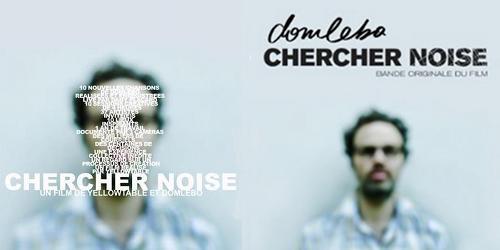 Projection sur grand écran du film de Domlebo : Chercher Noise