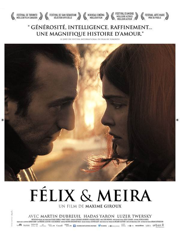 BO commentée du Film FELIX ET MEIRA