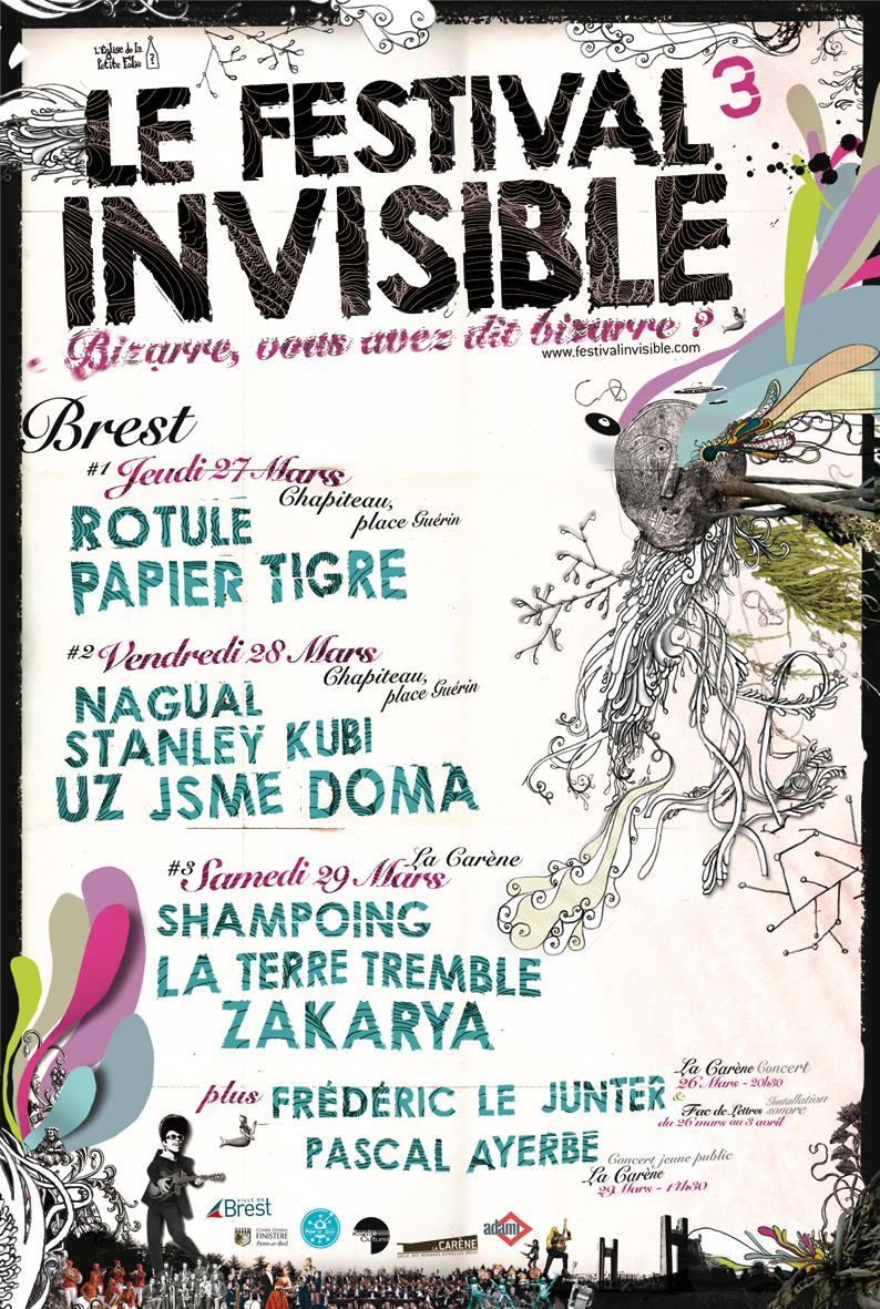 Le festival Invisible à Brest