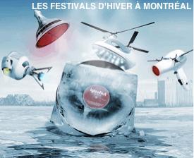 Les festivals d'hiver à Montréal et sa banlieue