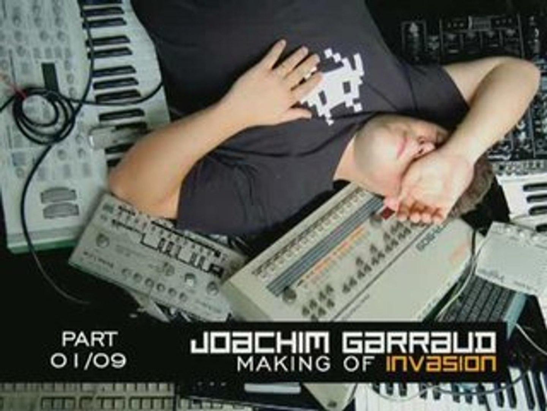 Album Solo «Invasion» de Joachim Garraud le 5 juillet 2008 personnalisé