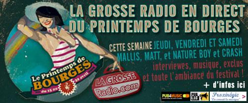 La Grosse Radio au Printemps de Bourges 2008