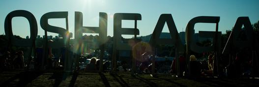 OSHEAGA 2011 jour 1: l'aube