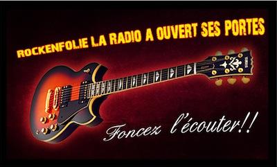 L'émission de radio RockenFolie devient une webradio 24h/24h