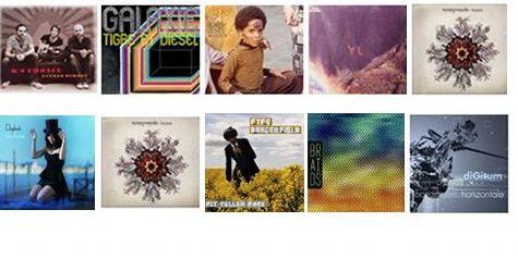 Top 5 des sorties musicales de 2011