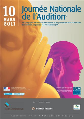 Jeudi 10 mars Journée Nationale de l'AUdition